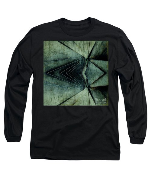 Industrial Bridge Grey Long Sleeve T-Shirt