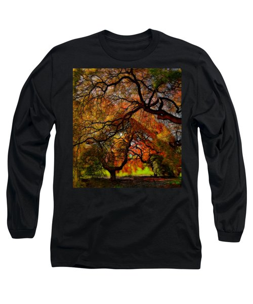 Japanese Maples 2 Long Sleeve T-Shirt