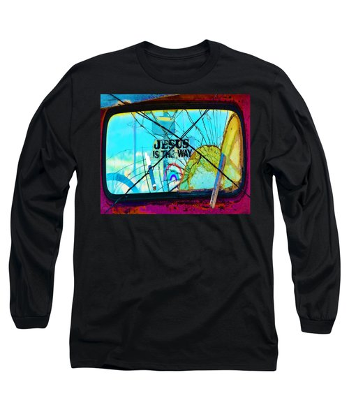 Jesus Is The Way Long Sleeve T-Shirt
