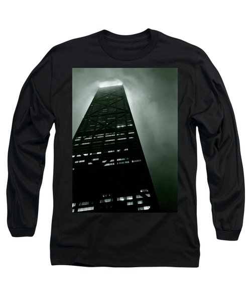 John Hancock Building - Chicago Illinois Long Sleeve T-Shirt