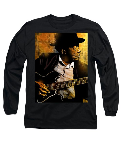 John Lee Hooker Long Sleeve T-Shirt