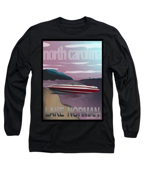 Lake Norman Poster  Long Sleeve T-Shirt