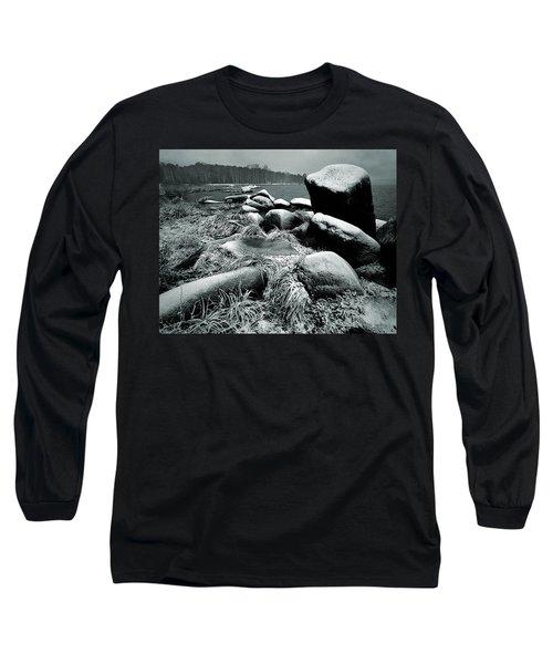 Late Fall Long Sleeve T-Shirt by Vladimir Kholostykh