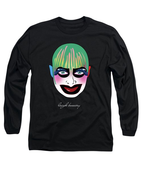 Leigh Bowery 5 Long Sleeve T-Shirt by Mark Ashkenazi