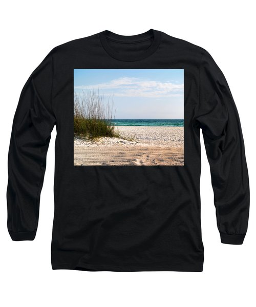 Lido Beach Long Sleeve T-Shirt by Athala Carole Bruckner