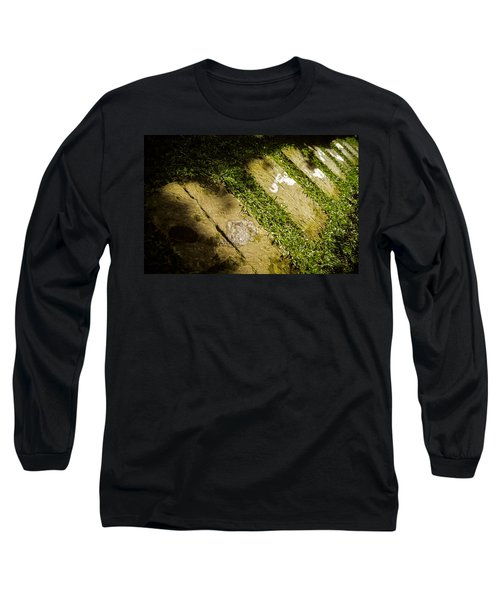 Light Footsteps In The Garden Long Sleeve T-Shirt