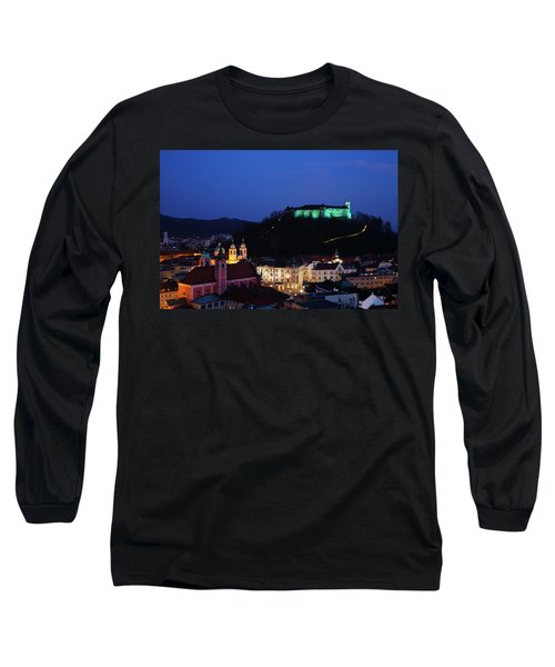 Ljubljana Castle Long Sleeve T-Shirt