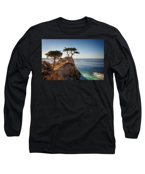 Lone Cypress Tree Long Sleeve T-Shirt by James Hammond