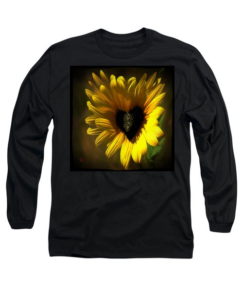 Love Sunflower Long Sleeve T-Shirt