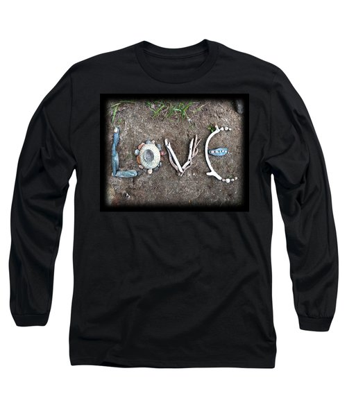 Love Long Sleeve T-Shirt by Tanielle Childers