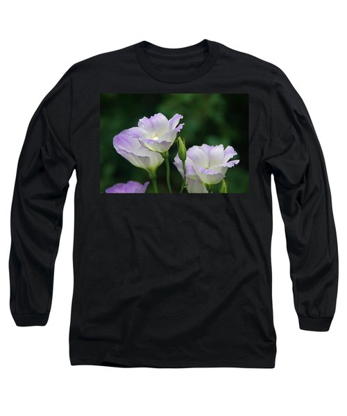 Long Sleeve T-Shirt featuring the photograph Lovely Lisianthus by Byron Varvarigos