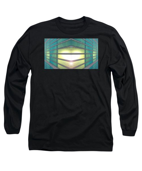 Long Sleeve T-Shirt featuring the photograph Luminous Corner by John Norman Stewart