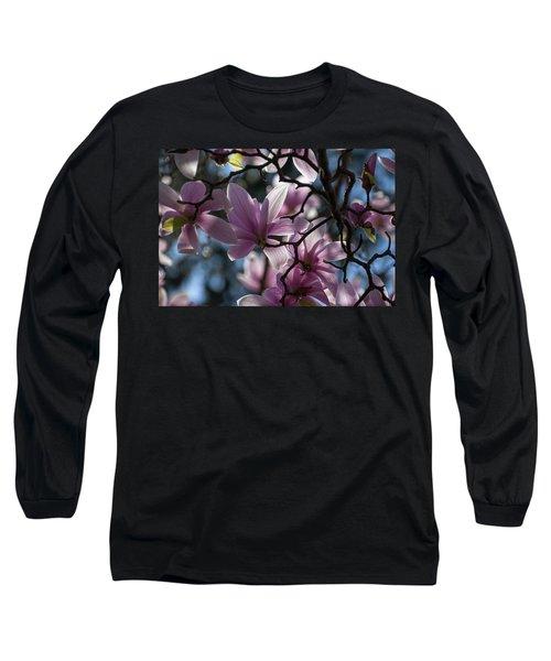 Magnolia Net - Long Sleeve T-Shirt
