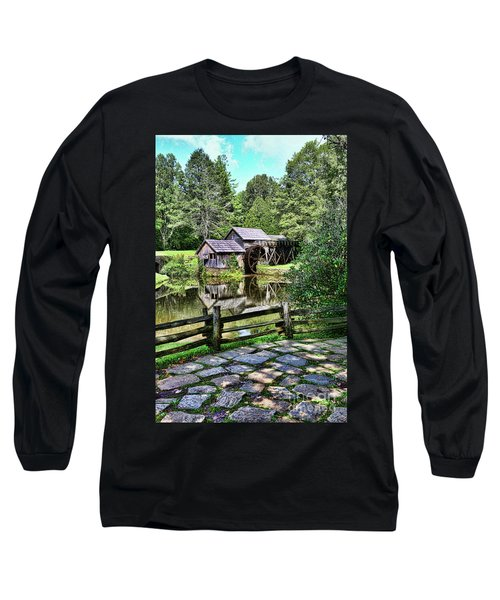 Marby Mill Pathway Long Sleeve T-Shirt by Paul Ward
