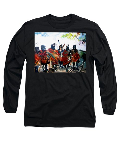 Masaai Boys Long Sleeve T-Shirt