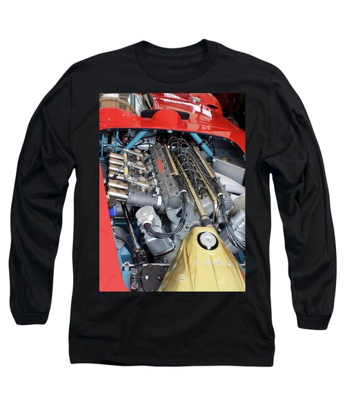 Maserati Engine Long Sleeve T-Shirt