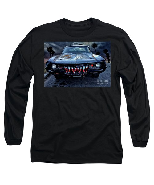 Mean Streets Of Belmont Heights Long Sleeve T-Shirt