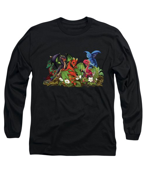 Mixed Berries Dragons T-shirt Long Sleeve T-Shirt