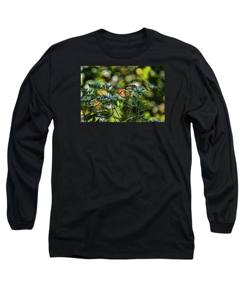 Monarch Long Sleeve T-Shirt by Rick Friedle