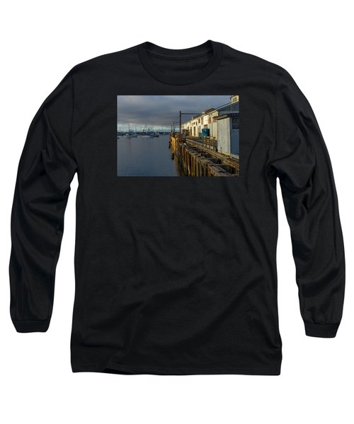 Monterey Commercial Wharf Long Sleeve T-Shirt