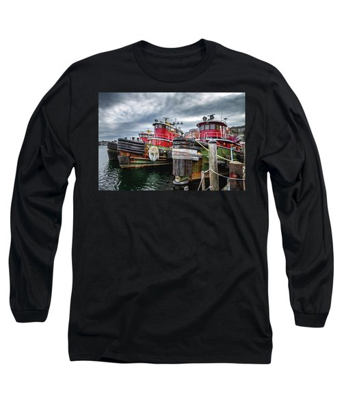 Moran Towing Tugboats Long Sleeve T-Shirt