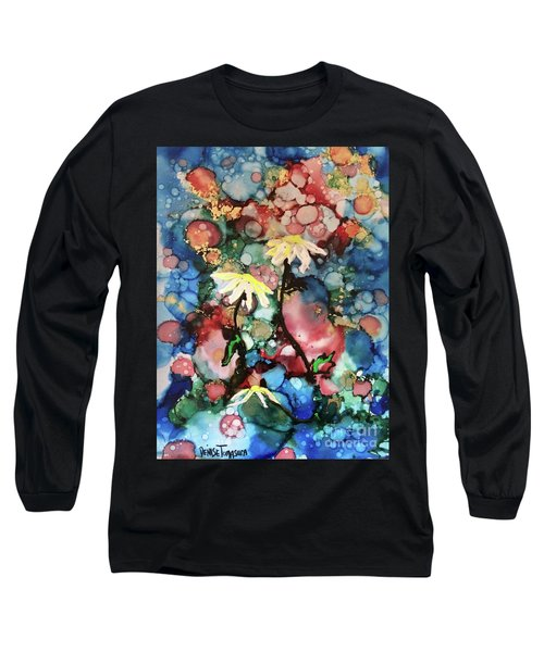 Long Sleeve T-Shirt featuring the painting Mothers Day by Denise Tomasura
