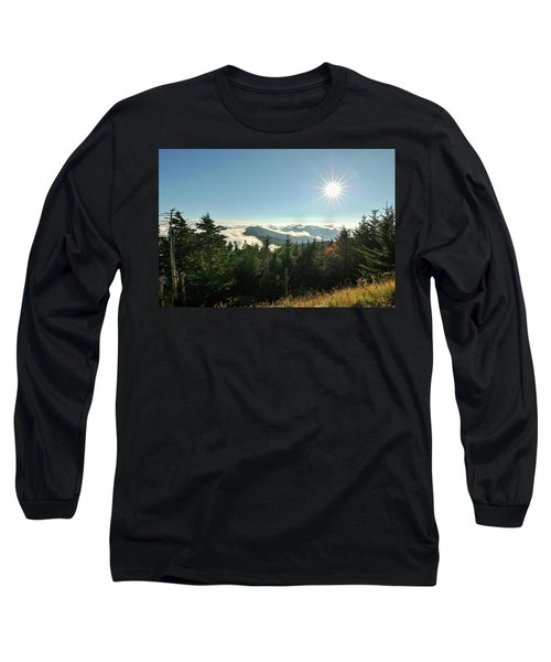 Mt Mitchell Landscape Long Sleeve T-Shirt