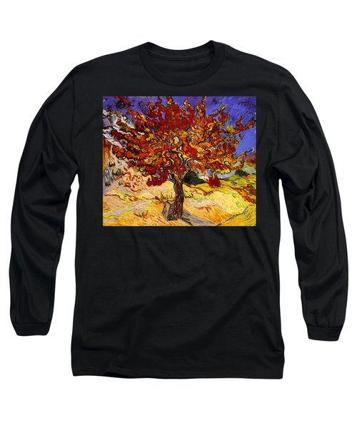 Long Sleeve T-Shirt featuring the painting Mulberry Tree by Van Gogh