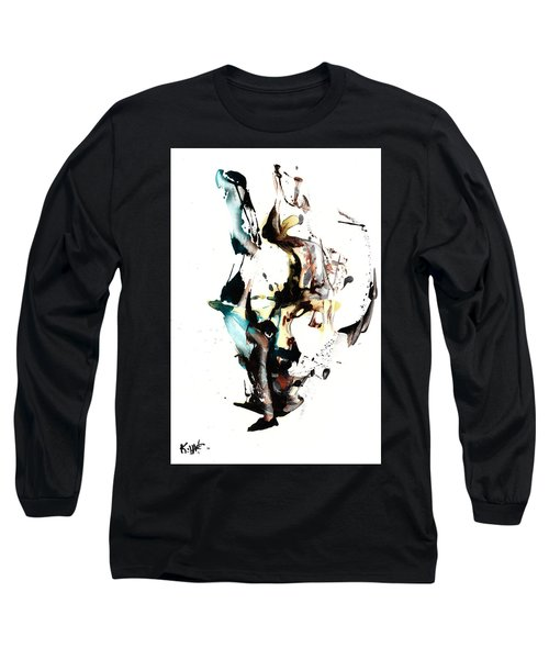 My Form Of Jazz Series 10064.102909 Long Sleeve T-Shirt by Kris Haas