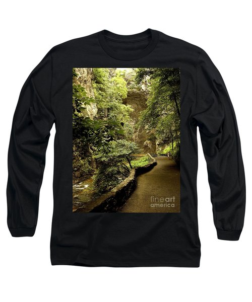 Long Sleeve T-Shirt featuring the photograph Natural Bridge  by Raymond Earley