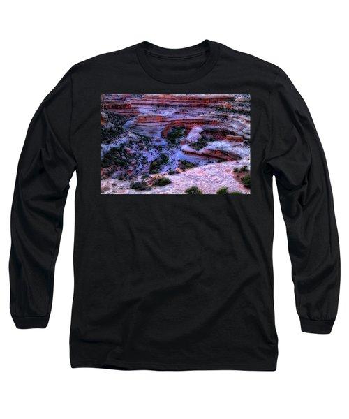 Natural Bridges National Monument Long Sleeve T-Shirt by Utah Images