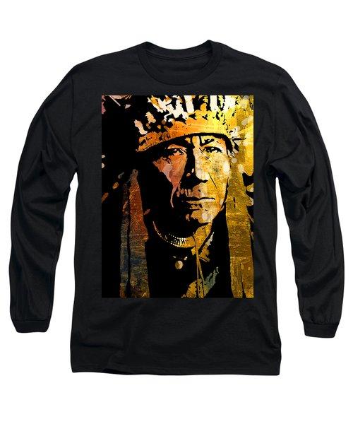Nez Perce Chief Long Sleeve T-Shirt