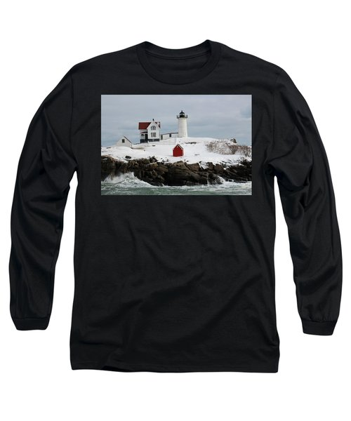 Nubble Point Maine Long Sleeve T-Shirt