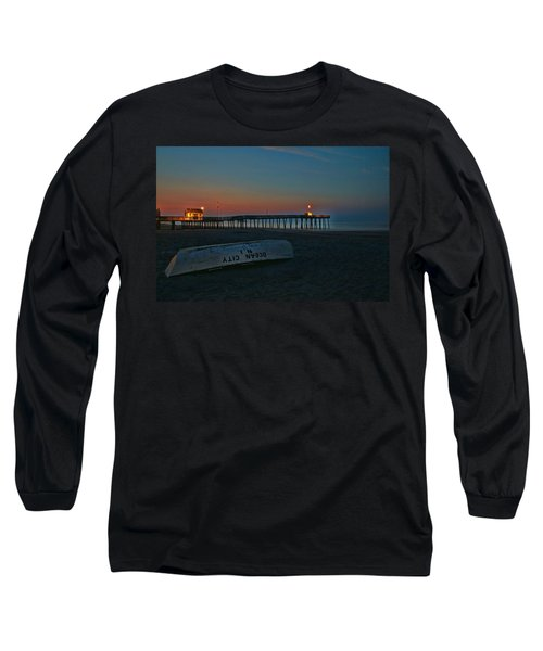 Ocean City  N J Sunrise Long Sleeve T-Shirt