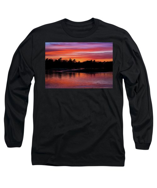Odiorne Point Sunset Long Sleeve T-Shirt