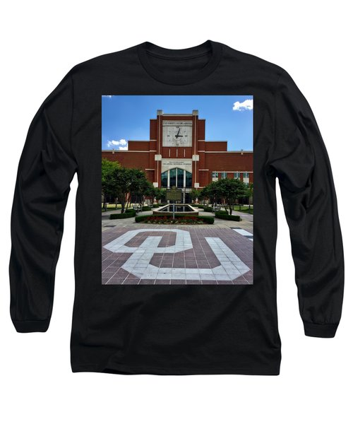 Oklahoma Memorial Stadium Long Sleeve T-Shirt by Center For Teaching Excellence