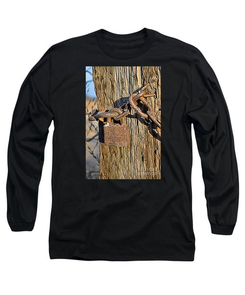 Old And Rusted Long Sleeve T-Shirt