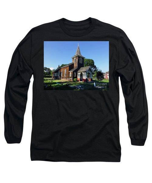 Old Grace Church Massapequa  Long Sleeve T-Shirt