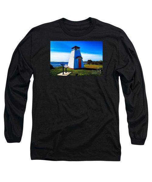 Old Lighthouse Long Sleeve T-Shirt by Rick Bragan