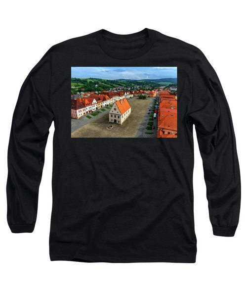 Old Town Square In Bardejov, Slovakia Long Sleeve T-Shirt