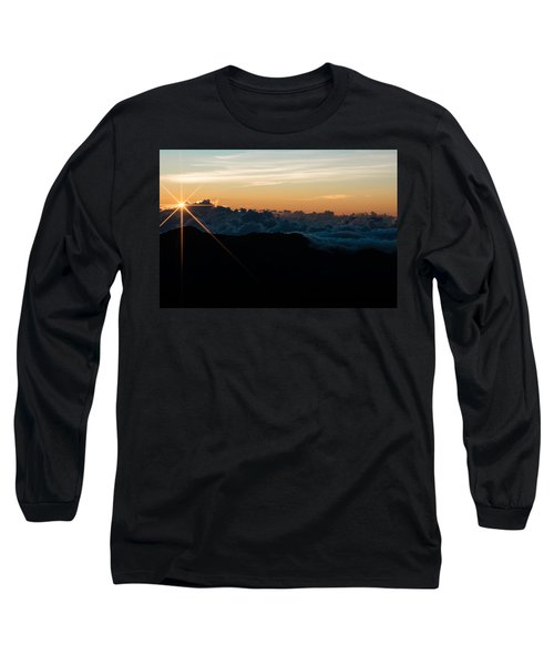 Long Sleeve T-Shirt featuring the photograph On Top Of The World by Colleen Coccia