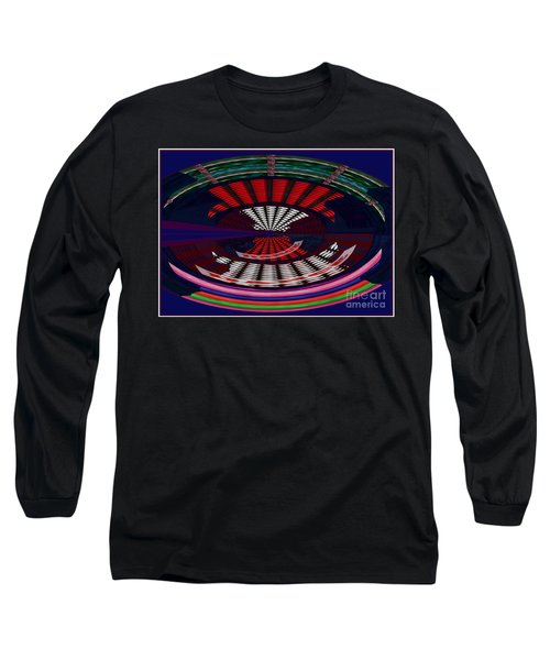 Opposit Arc Pattern Abstract Digital Graphic Art Interior Decorations Buy Painting Print Poster Pill Long Sleeve T-Shirt by Navin Joshi