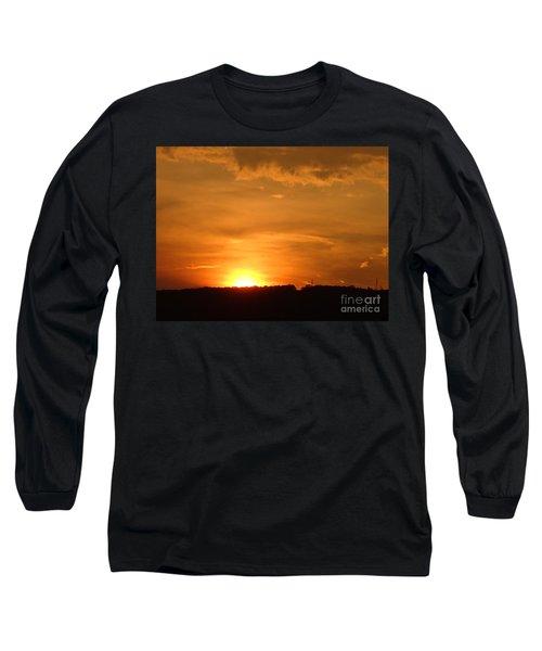 Orange Sunset  II Long Sleeve T-Shirt