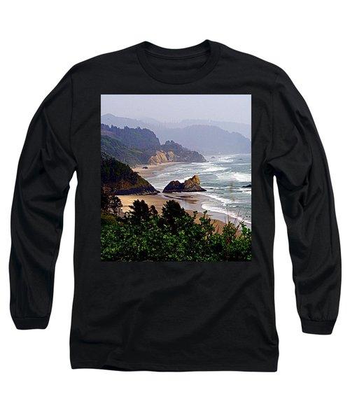 Oregon Coastline Long Sleeve T-Shirt