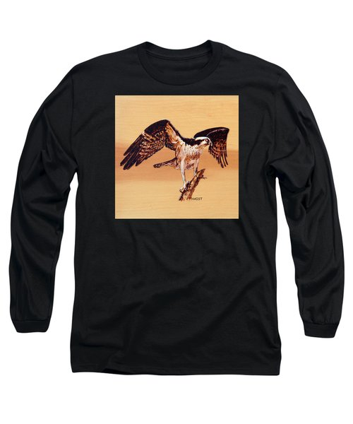 Osprey Long Sleeve T-Shirt by Ron Haist