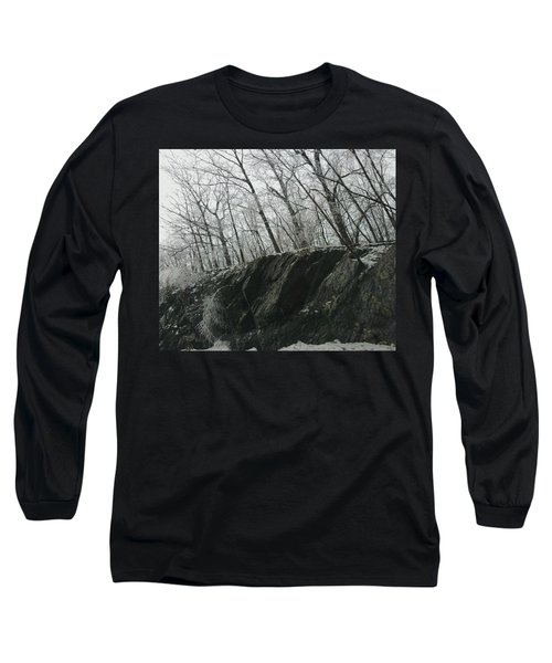 Long Sleeve T-Shirt featuring the photograph Out Of The Rocks by Ellen Levinson