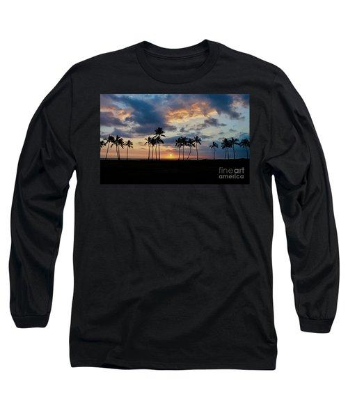 Palms At Sunset Long Sleeve T-Shirt