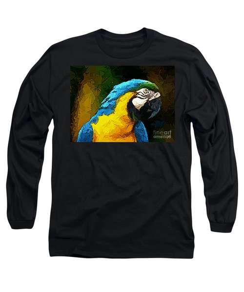 Pappagallo - Parrot Ara Ararauna Long Sleeve T-Shirt