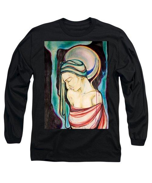 Peace Beneath The City Long Sleeve T-Shirt by Sheridan Furrer