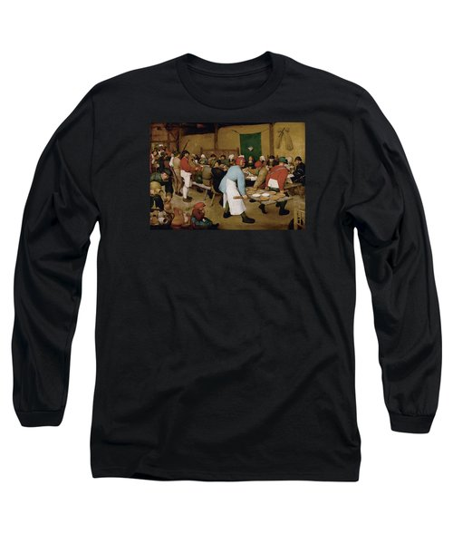 Peasant Wedding Long Sleeve T-Shirt